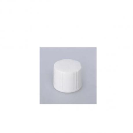 Beauty product packaging ribbed plastic caps for plastic bottles container body and face product